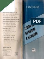 PACHUKANIS Evgene. Teoria Geral Do Direito e Marxismo