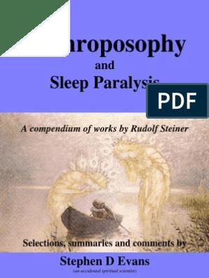 Anthroposophy: Sleep Paralysis