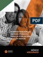 Administración de Riesgos Públicos Para La Población Adulta Mayor