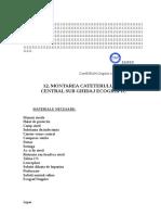 12. Montare Cateter Venos Central Sub Ghidaj Ecografic