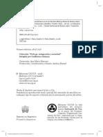 Indice - Sistemas Productivos en El Área Periurbana