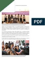 23-11-2016 Firman Convenio Para La Creación Del Observatorio de Participación Política de Las Mujeres Guerrerenses.