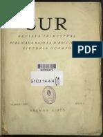 SUR 1 - Carta de VO a Waldo Frank 1931