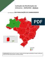 Atualizações Das Manifestações Dos Caminhoneiros. - 29-05-8h30