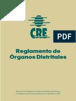 Reglamento de Organos Distritales