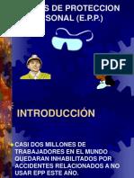 EQUIPOS DE PROTECCION PERSONAL.ppt