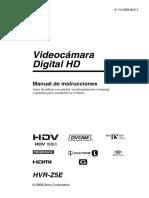 Manual HVR Z5E