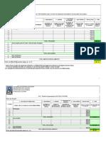 Planilha Orçamentária FCBA 2014