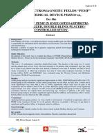 20180222 - Def-b- Pemf Osteoarthritis