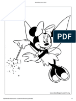 Minnie Mouse Para Colorir