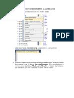 Procedimientos y Cursores de SQL Server
