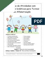 Parte a Caderno de Atividades Infantis