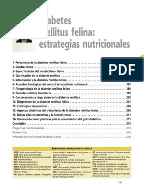 información nutricional para la diabetes