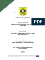 1. Dokumen Pengadaan Pembangunan Kantor Kecamatan Klapanunggal