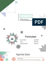 Parenteral DDS