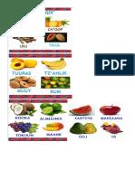 Frutas y Verduras en Poqomam Con Imagenes