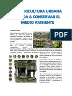 La Agricultura Urbana Ayuda Aconservar El Medio Ambiente