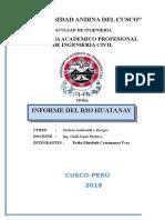 Informe Del Rio Huatanay