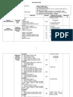 Plan de lectie - clase simultane (VI, VII). Educatie fizica si sport