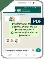Monografía Incidencias de Las Tecnologías de La Información y Comunicación en La Infancia