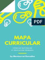 Mapa Curricular CN 6º EP