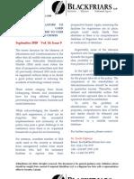 IT Telecommunications Law Newsletter Sept10 En