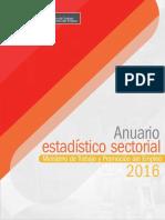 Anauario Estadistico Accidente de Trabajo Perú
