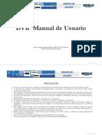 M Meriva DVRs Manual