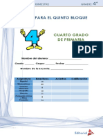 Examen 4° Grado Bloque 5