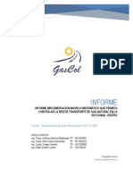 Tgi Sa Esp - Informe - 1era Entrega