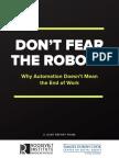 Don't Fear the Robots