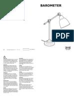Barometer Lampara de Trabajo AA 1997250 1