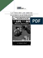 LA VIDA DE LAS ABEJAS MAURICE MAETERLINCK