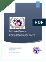 Investigacion Modelo Kano y Por Pares.