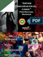 Artes Oscuras en El Comic