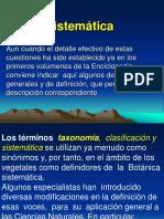 Presentación Botanica