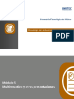Elaboración de Reactivos Módulo 5