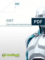 ESET Client Security Administrator Nivel 1