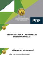 INTRODUCCION FINANZAS INTERNACIONALES