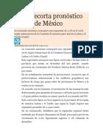 México en El Mundo (NOTICIA )