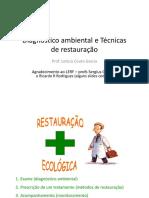 Diagnóstico Ambiental e Técnicas de Restauração