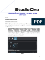Studio One 3 Profesional Notas Clase Dia 2