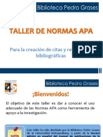 Presentación NORMAS APA 1516
