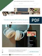 Transforme Seus MP3 Velhos de Guerra Em Streaming - Bia Kunze – Garota Sem Fio