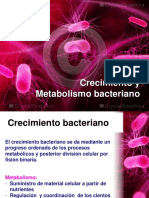 Clase 3 Metabolismo Bacteriano