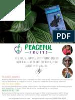 Peaceful Fruits Sell Sheet