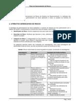 Modelo de Plano de Gerenciamento de Riscos