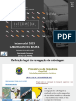 Cabotagem Intermodal Sp Abril 2015