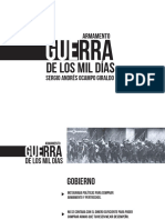 Unidad 6 Guerra de Los 1000 Días - Sergio a Ocampo