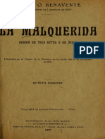 14 Benavente - Malquerida